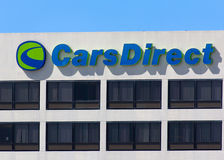 CarsDirect Headquarters and Logo Stock Photo