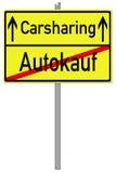 Carsharing Stock Image