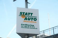 CarSharing de StattAuto Foto de Stock Royalty Free