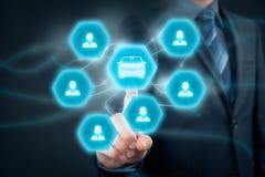 Carsharing- Konzept Stockfotos