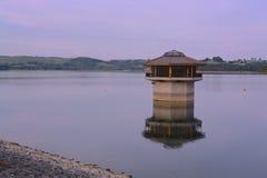 Carsington vatten Royaltyfri Fotografi