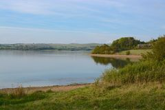 Carsington water reservouir. Carsington water, in the peak district, derbyshire Stock Image