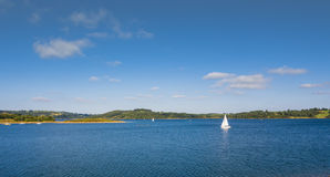 Carsington water Royalty Free Stock Image