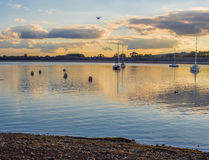 Carsington water Royalty Free Stock Images