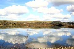 Carsington woda, Derbyshire. fotografia royalty free