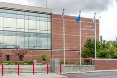 Carson City Courthouse Arkivbild