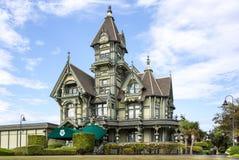 Carson Mansion fotografia de stock