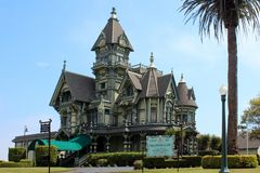 The Carson Mansion, Eureka, California Royalty Free Stock Image
