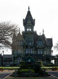 Carson Mansion. The Carson Mansion is a large Victorian house located in Old Town, Eureka, California. Regarded as one of the highest executions of American Royalty Free Stock Photography
