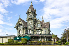 Carson Mansion Stock Photography