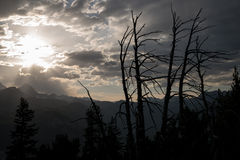Carson Peak Sunset Royalty Free Stock Images