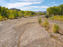 Carson River after a dry season Royalty Free Stock Photo