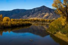 Carson River, Nevada. Carson river near Carson City, Nevada in sunny fall day Stock Photography