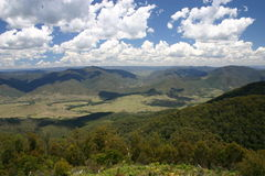 Carsons Lookout, Thunderbolts Way Stock Photography