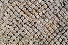 Carsulae, wall in opus reticulatum Stock Image