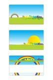 Cartão 03 ilustração stock