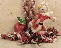 Cartão 2012 do Natal Fotografia de Stock