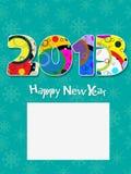 cartão 2013 Fotos de Stock Royalty Free