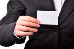 Cartão Fotografia de Stock