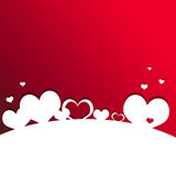 Cartão 5 do dia de Valentim Imagens de Stock Royalty Free