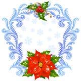 Cartão 5 do Natal e do ano novo Imagem de Stock Royalty Free