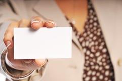 Cartão Imagens de Stock