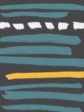 Cartão abstrato decorativo ilustração do vetor
