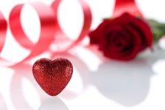 O dia de Valentim dos acessórios Foto de Stock