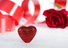 O dia de Valentim dos acessórios Imagens de Stock Royalty Free