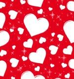 Cartão ao dia do Valentim Imagem de Stock