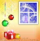 Cartão ao Natal Foto de Stock Royalty Free