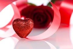 O dia de Valentim dos acessórios Fotos de Stock