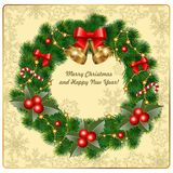 Cartão bonito Fotos de Stock Royalty Free