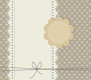 Cartão bonito da festa do bebê com espaço da cópia Fotografia de Stock