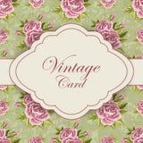 Cartão bonito do vintage Foto de Stock Royalty Free