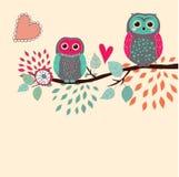 Cartão bonito ilustração stock