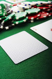 Cartão cego imagem de stock royalty free