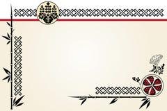 Cartão chinês Imagens de Stock
