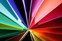 Cartão colorido Fotos de Stock Royalty Free