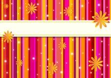 Cartão colorido criativo. Fotografia de Stock Royalty Free
