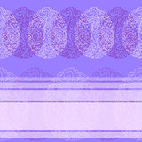 Cartão com cor pastel feliz do azul de easter Foto de Stock Royalty Free