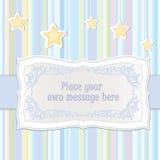Cartão com espaço da cópia Fotografia de Stock Royalty Free