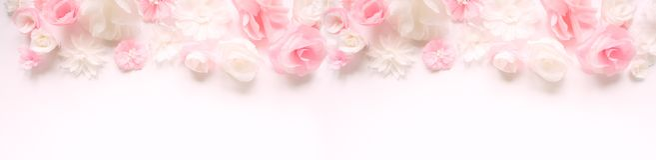 Cartão com flores de papel Fotografia de Stock Royalty Free