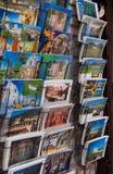 Cartão com tração de Gubbio fotografia de stock royalty free