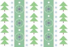 Cartão comemorativo do inverno Fotografia de Stock