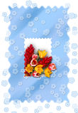Cartão congratulatório ilustração stock