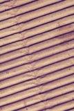 Cartão convexo ondulado, fundo textured fotografia de stock royalty free