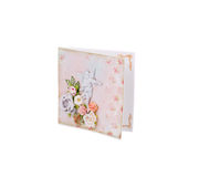Cartão cor-de-rosa Imagem de Stock