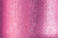 Cartão cor-de-rosa bonito do ouro especialmente para o dia de Valentim e pares novos do casamento Imagens de Stock Royalty Free