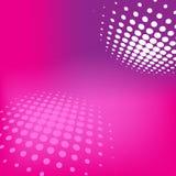 Cartão cor-de-rosa de Technolgy Foto de Stock